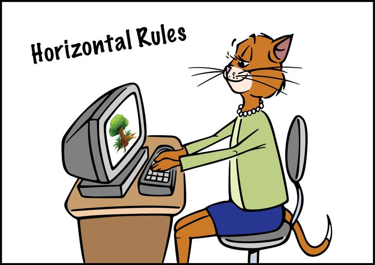 Clip Art for Horizontal Rules