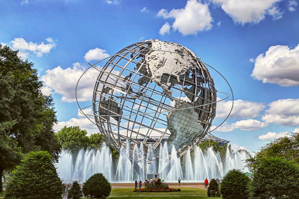 Unisphere in Flushing Meadows–Corona Park, Queens, New York