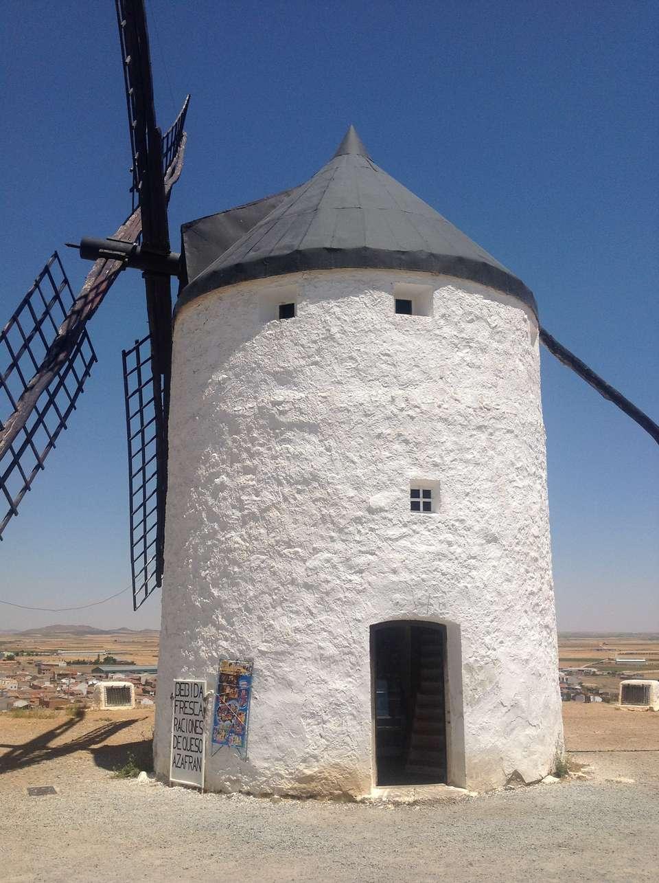 A Consuegra windmill