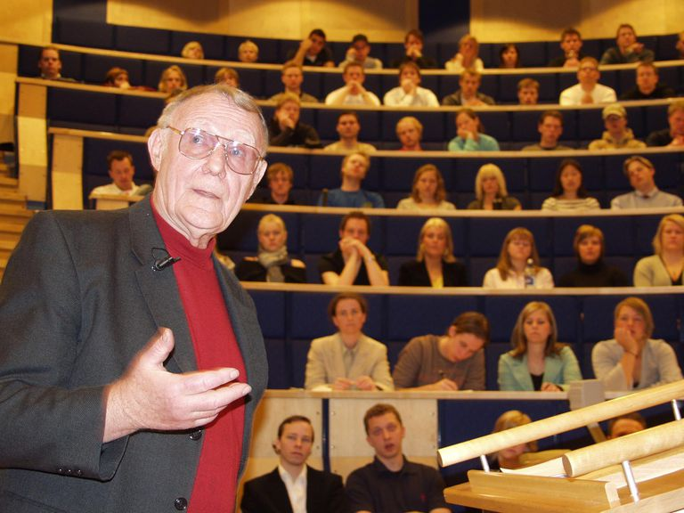 Ingvar Kamprad Founder of IKEA Entrepreneur and One of the World's Richest Men