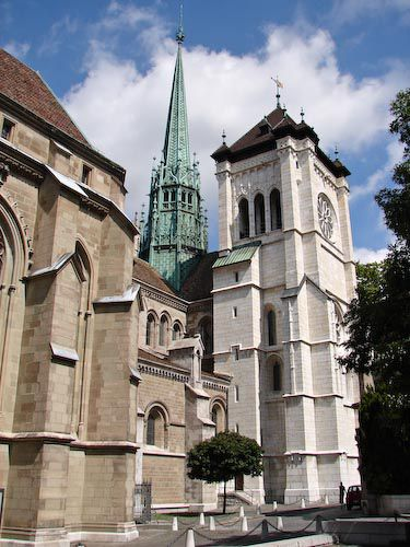 geneva cathedral picture