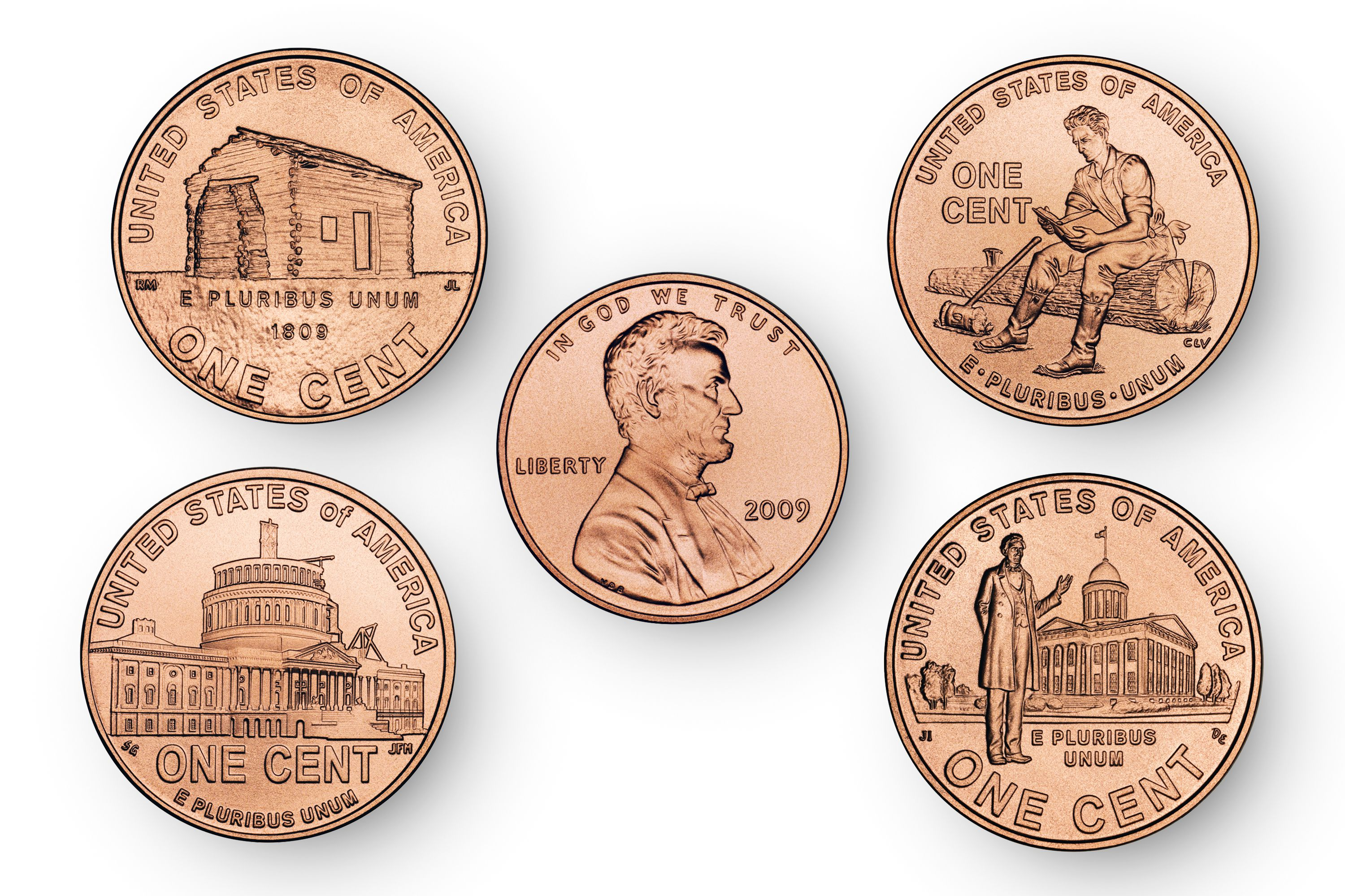 Designs for lincoln pennies in 2009 buycottarizona Gallery
