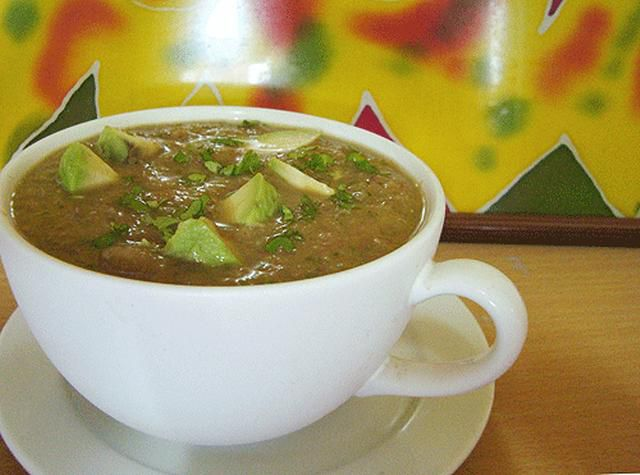 Easy homemade raw vegan soup recipes with pictures avocado gazpacho is a simple raw food soup but because of the chilis and avocados the depth of flavor in this chilled soup makes it seem gourmet forumfinder Choice Image