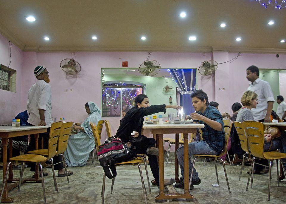 Nizam's restaurant, Kolkata.
