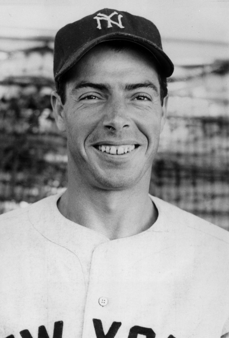 Picture of Yankees baseball player Joe DiMaggio.