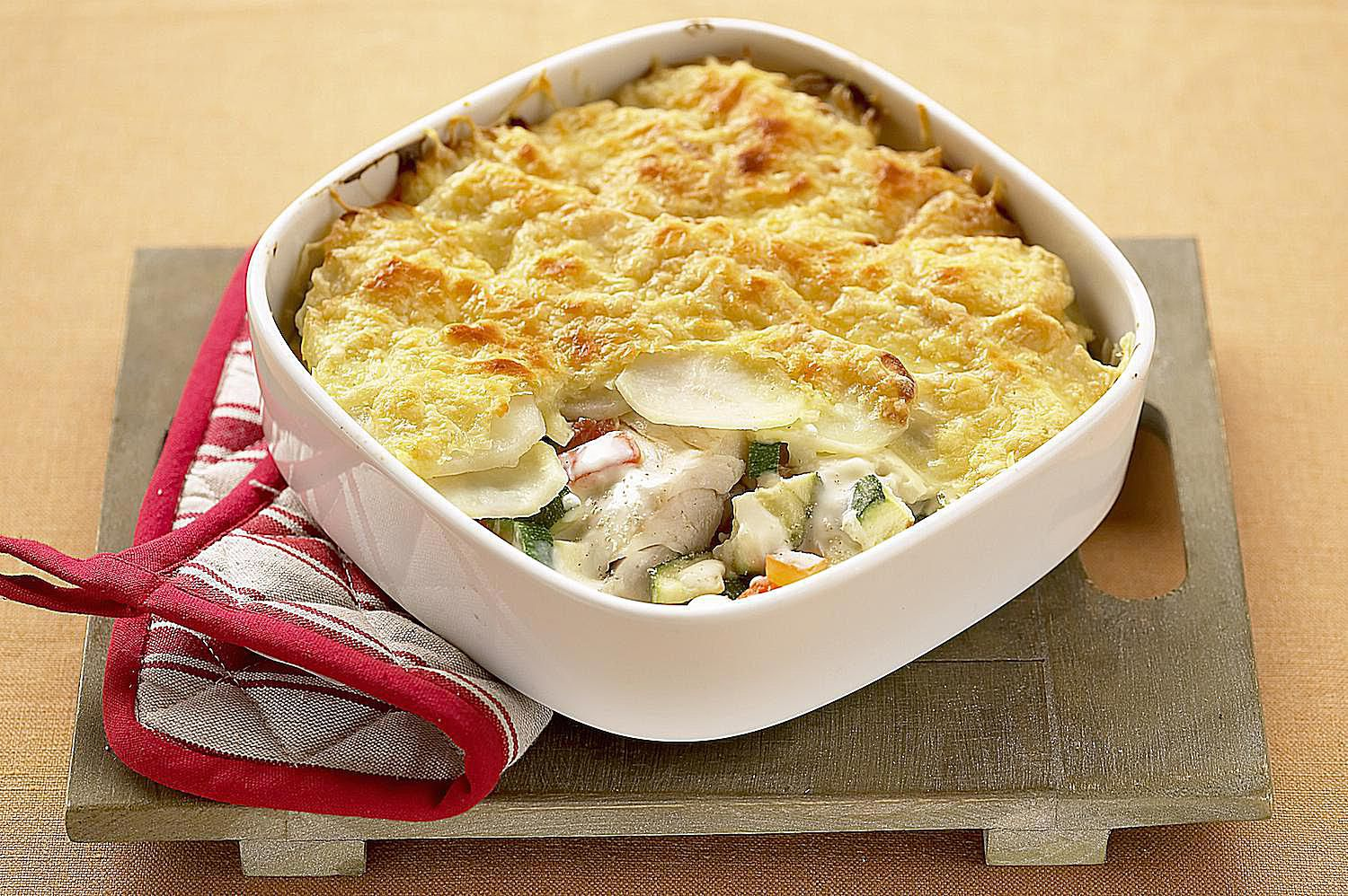 Easy British Fish Pie Recipe