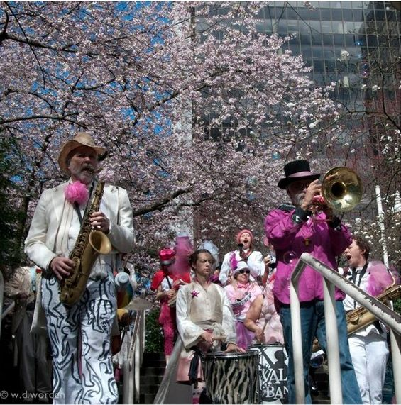 Vancouver Cherry Blossom Festival with music
