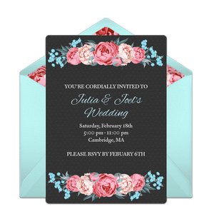 Free line Wedding Invitations