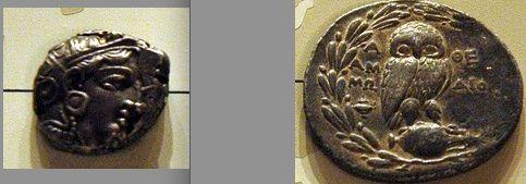 Athena's Symbols - The Owl on Tetradrachm Coins