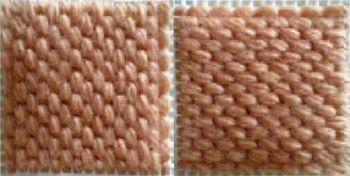 half stitch cross stitch instructions
