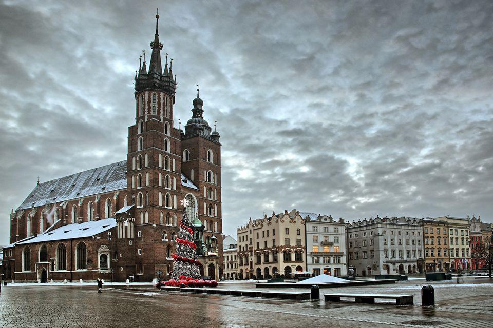 Winter in Krakow