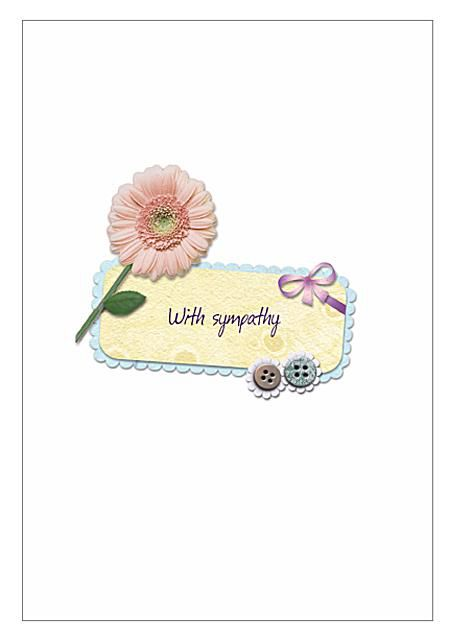 free sympathy cards to print