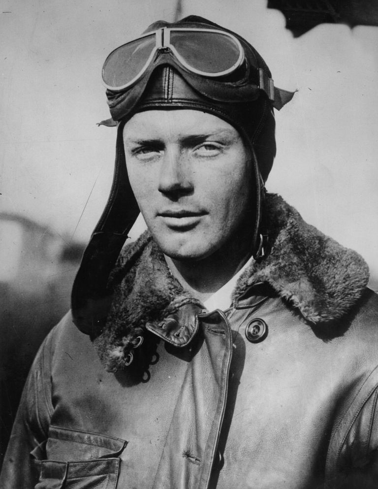 Picture of Charles Lindbergh.