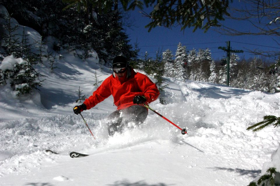Snowshoe Mountain Skiing