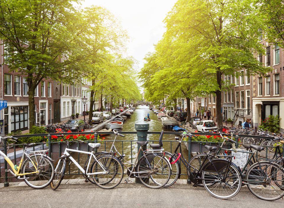 Bloemgracht canal in Jordaan district