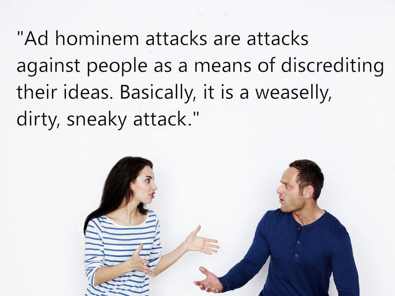 Definition And Examples Of Ad Hominem Fallacies