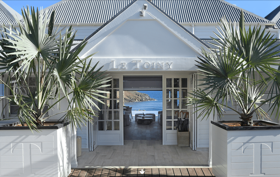 Le Toiny entrance