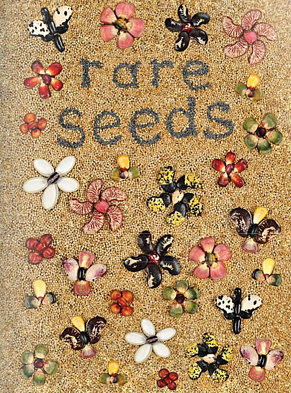 Picture of a rare seeds catalog from Baker Creek Heirloom Seed