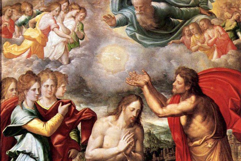 The Baptism of Christ - Navarrete el Mudo