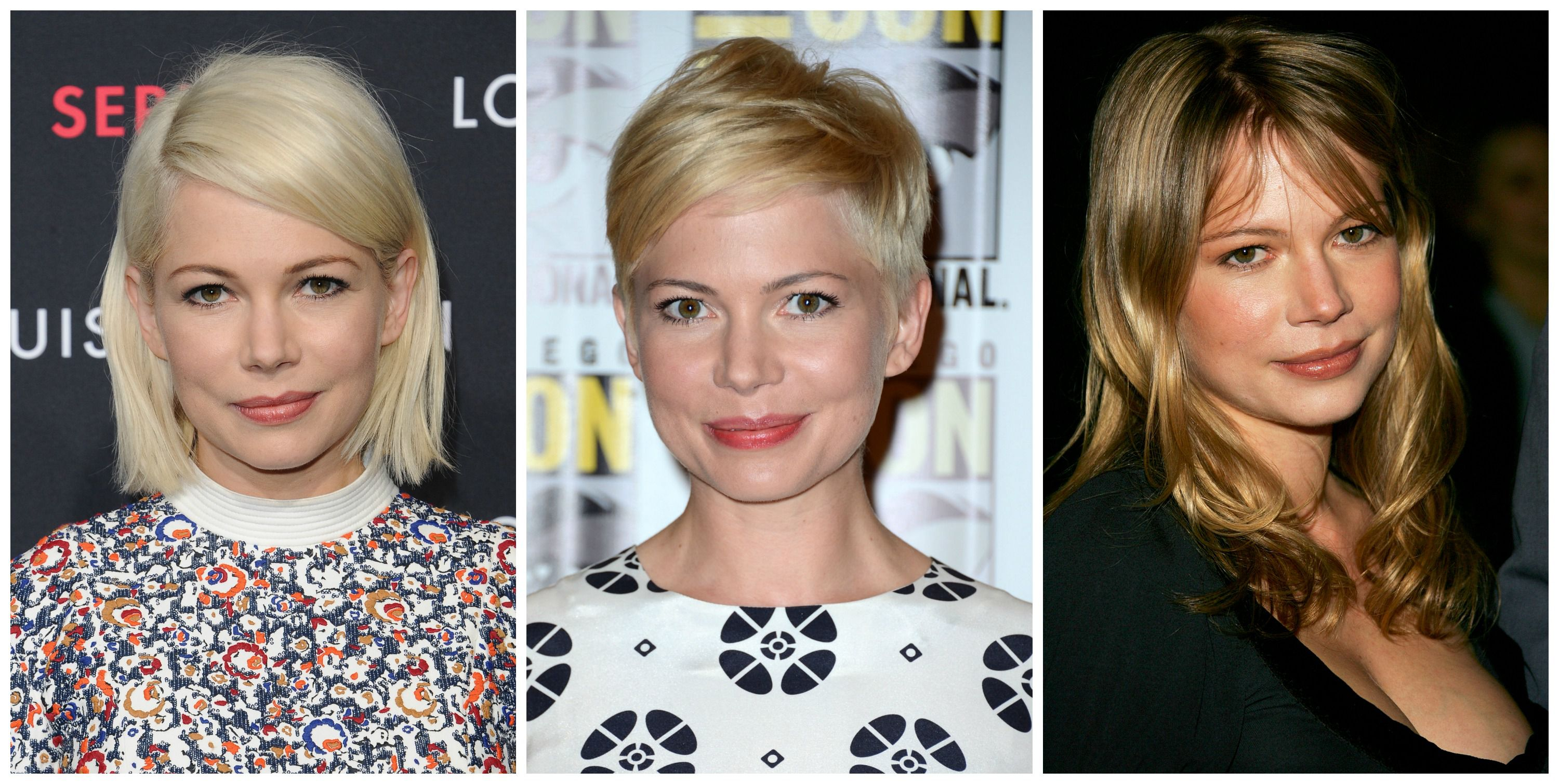 Actress Michelle Williams Hairstyles A Slideshow