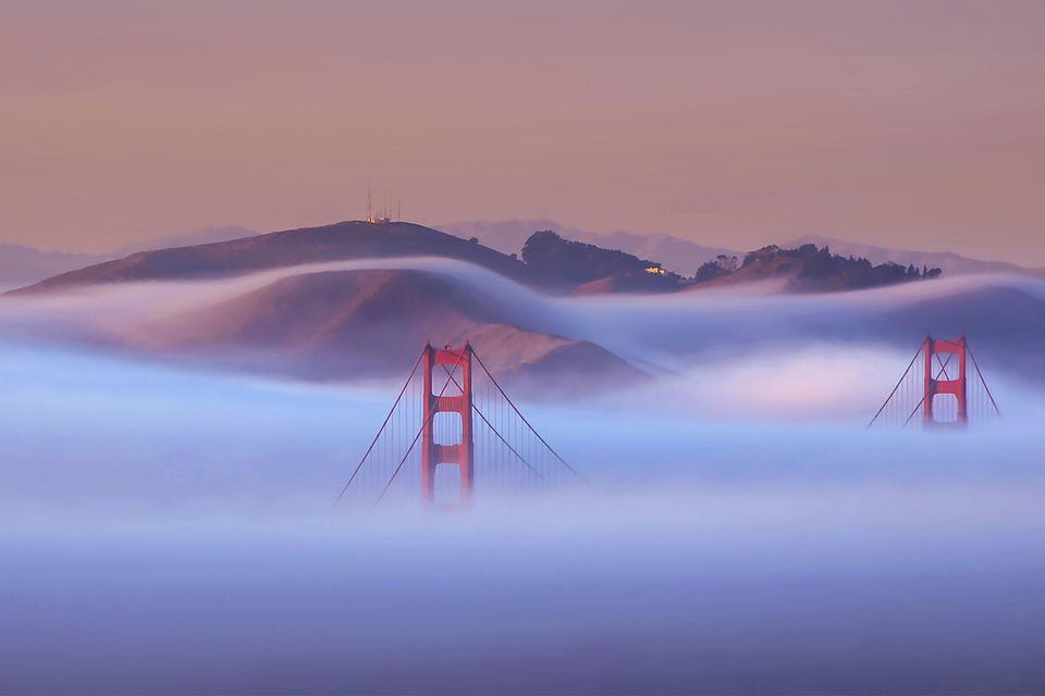 San Francisco Can Be Foggy - But Beautiful - in June