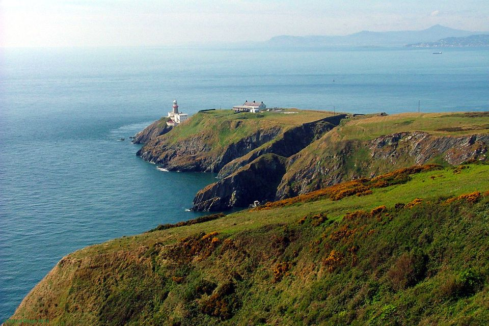The View of Baily Lighthouse from Howth Summit.