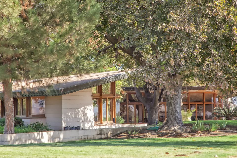 Fawcett house frank lloyd wright in central california for Frank lloyd wright houses in california