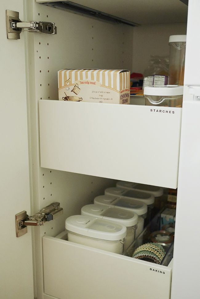 Turn Your Cabinets Into Your Pantry