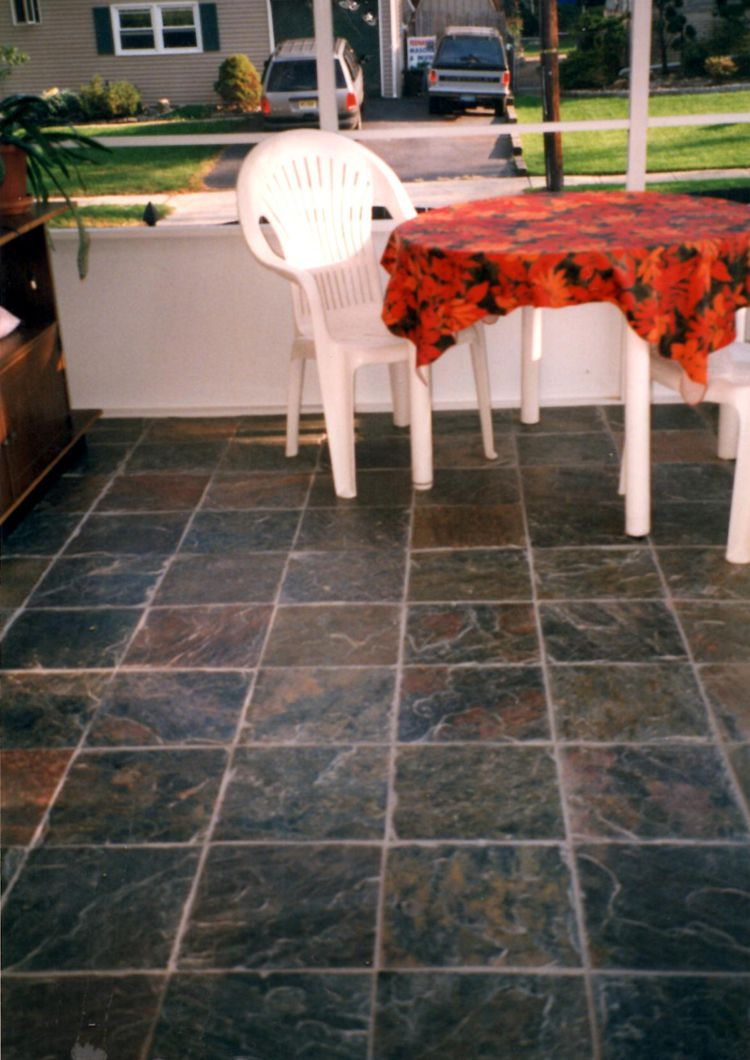 How to choose the best garage floor tiles porch flooring material options dailygadgetfo Image collections
