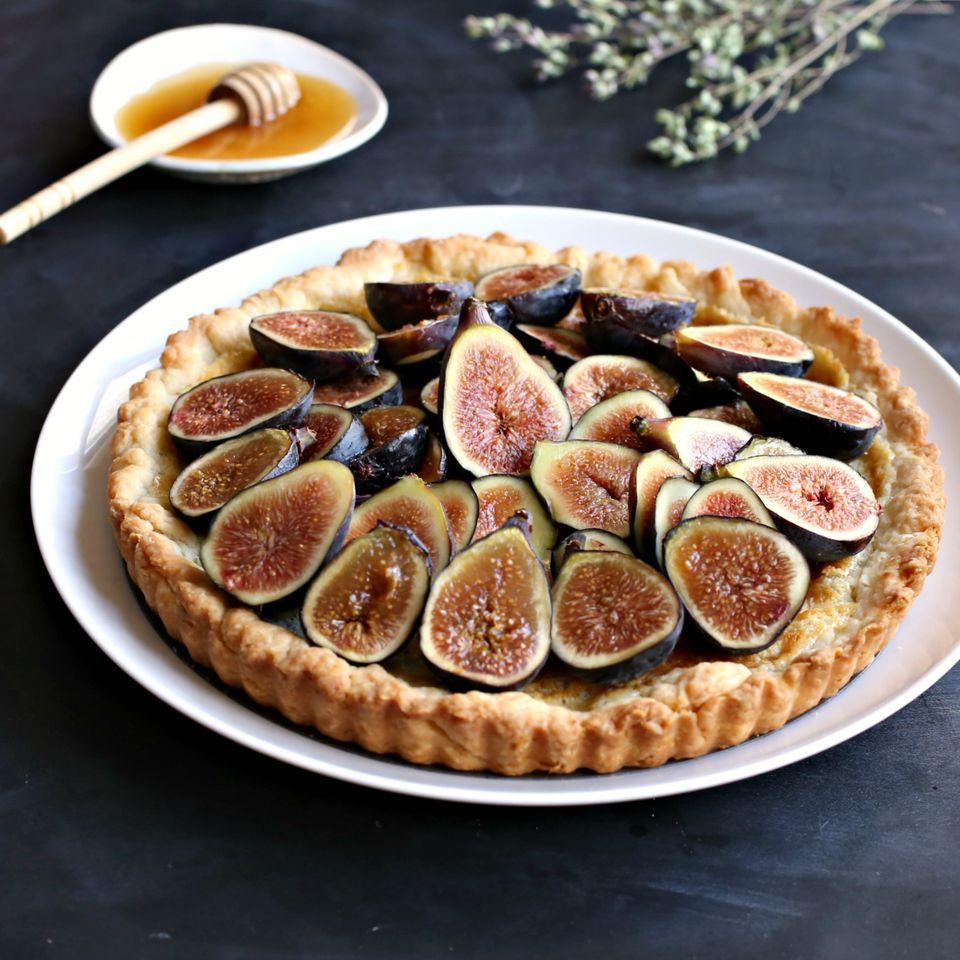Fig and Honey Tart
