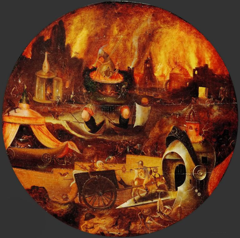 The Hell, ca 1545