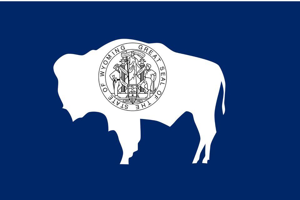 State seal of Wyoming