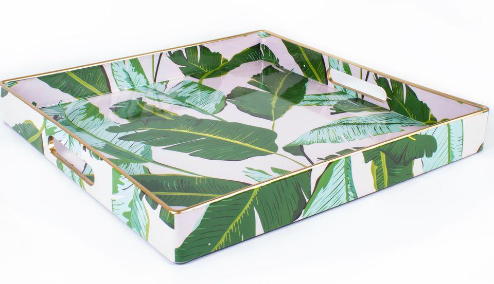 banana leaf tray