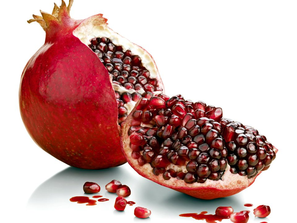 pomegranates recipes fruit food cooking receipts