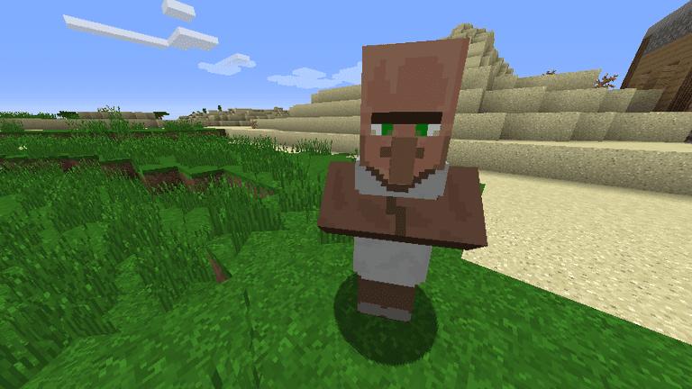 Minecraft Villager Librarian