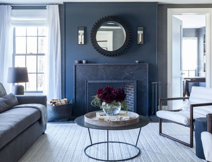 23 statement making marble fireplaces for every aesthetic - Living Room Designs With Fireplaces