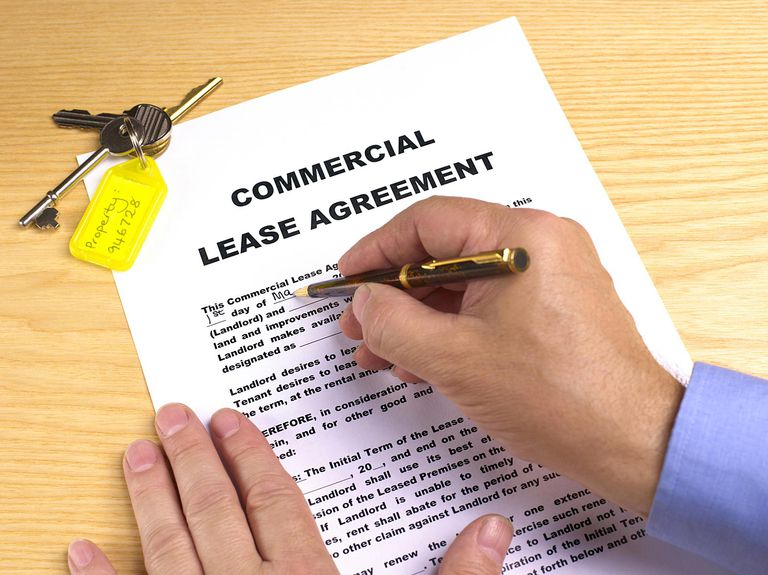 commercial real estate lease document