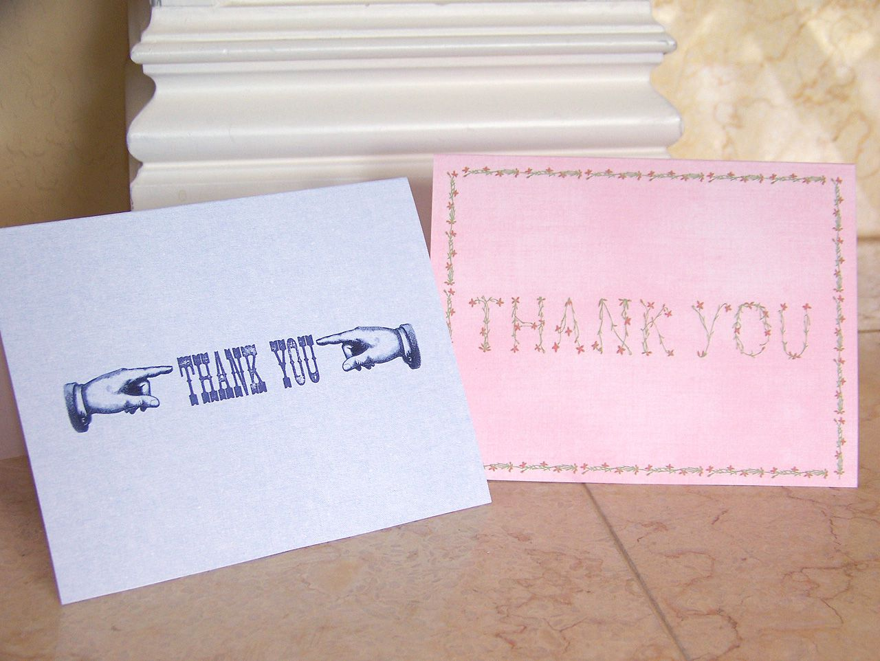 14 free printable thank you cards you can personalize kristyandbryce Choice Image