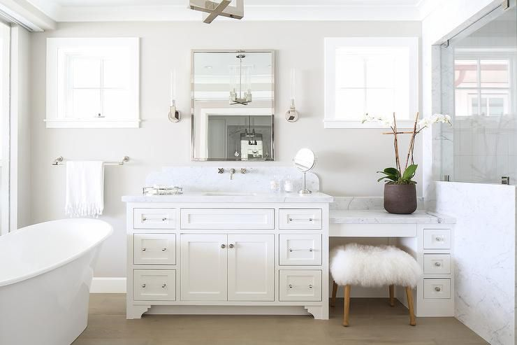 bathroom inspiration white beach tub - Bathroom Inspiration