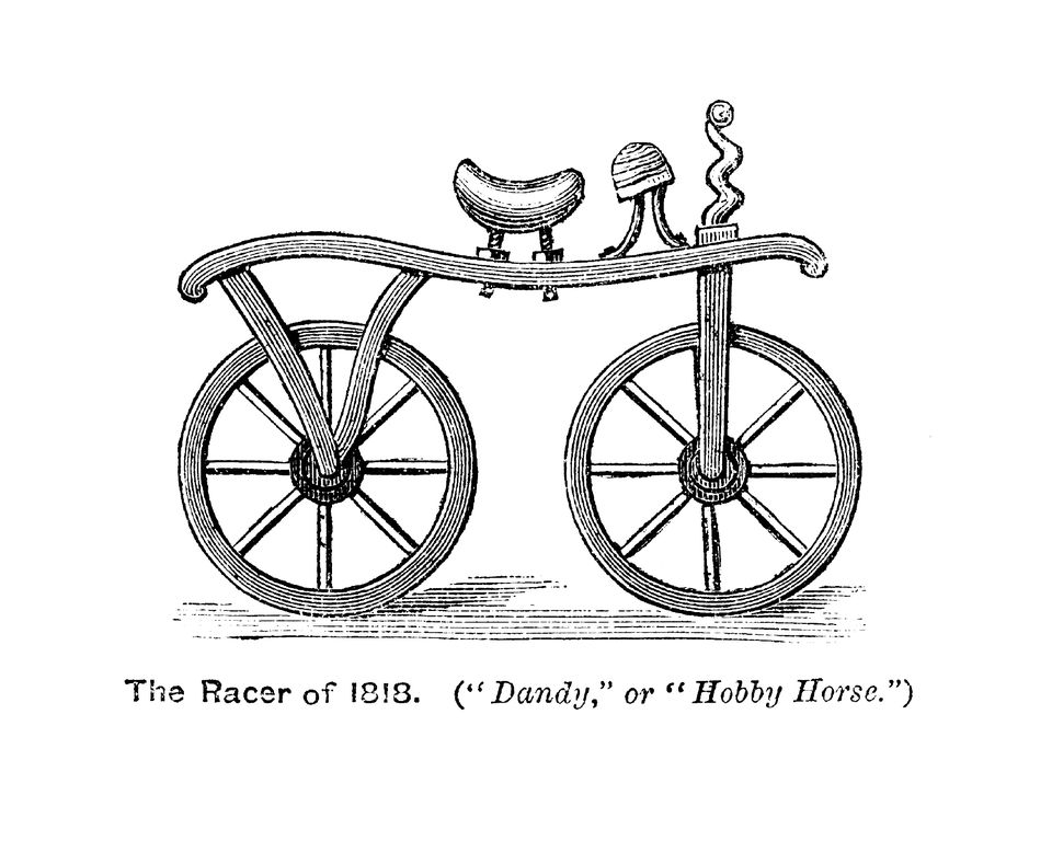 Dandy horse early bicycle