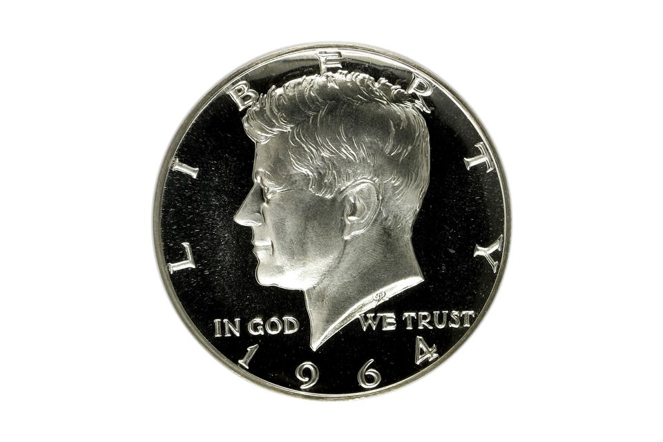 1964 Kennedy Half-Dollar Graded Proof-69 by PCGS