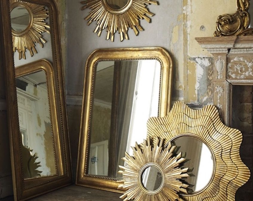 Mirrors Via Indulgy Are The 1 Feng Shui Decorating Must For Any Living Room