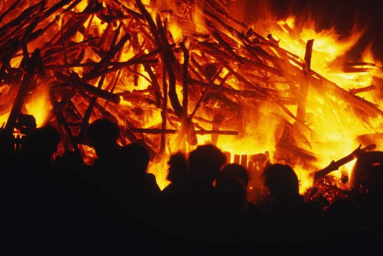Bonfire Crowd