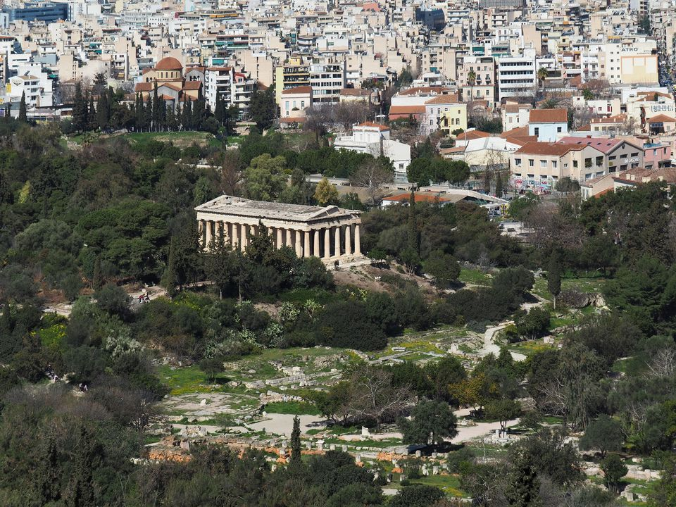 Temple of Hephaestus, Athens, Greece