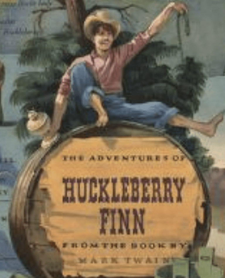 the development of the character of huck in the adventures of huckleberry finn by mark twain A teacher's guide to the signet classics edition of mark twain's adventures of huckleberry finn judith loftus, a minor character, catches huck when, dressed as a.