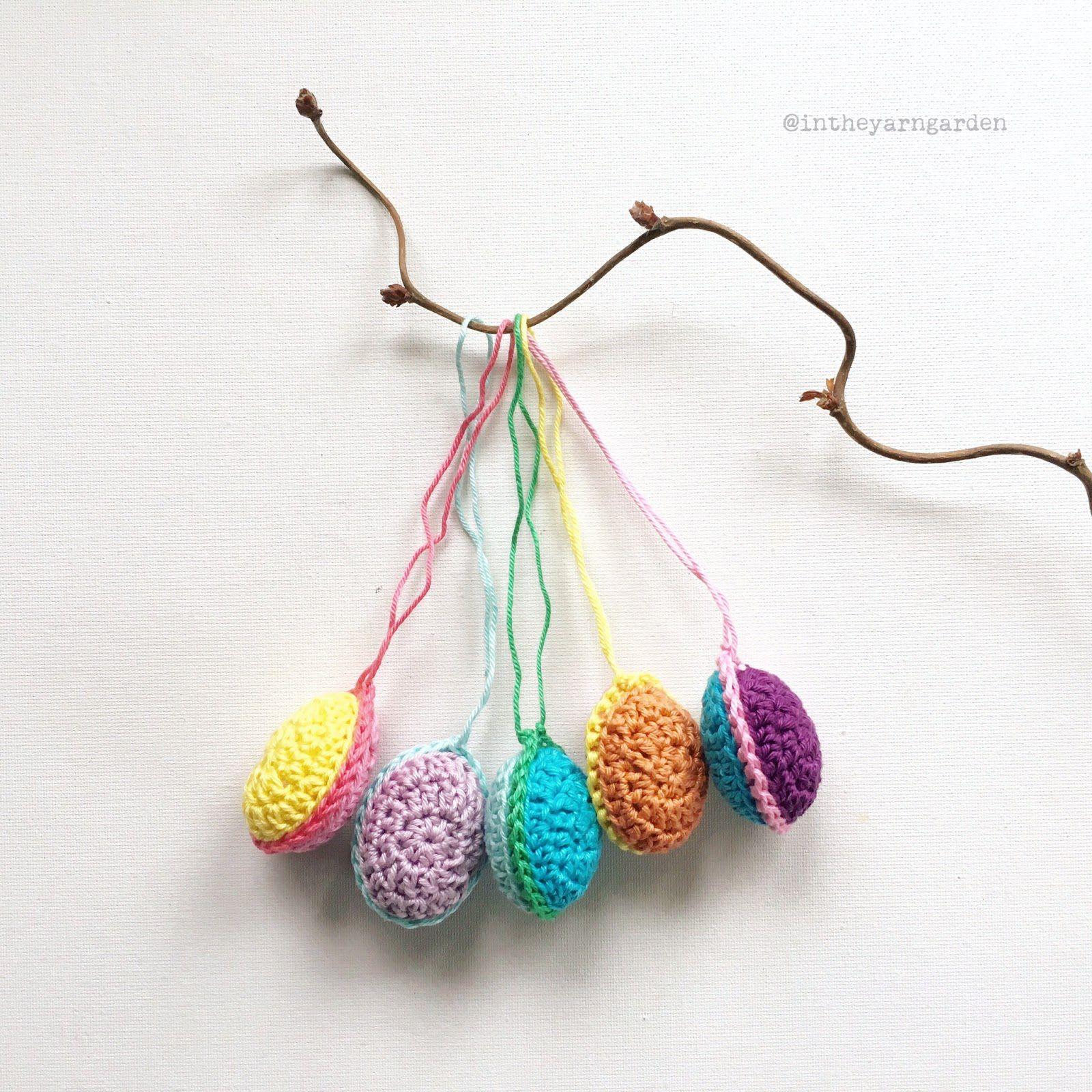 15 easter egg crochet patterns