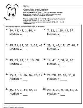 Chemistry Math Review Worksheet Pdf Median Worksheets For Math Students Punctuation Grammar Worksheets Word with Kids Tracing Worksheets Word Median Worksheet  Second Grade Multiplication Worksheet Pdf