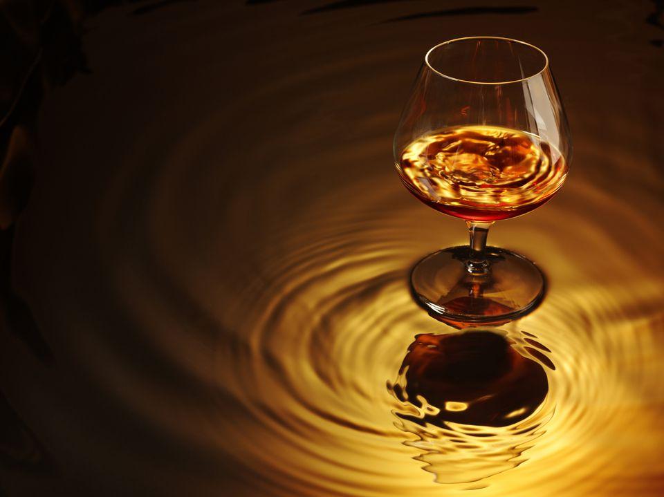 Amaretto in a Glass