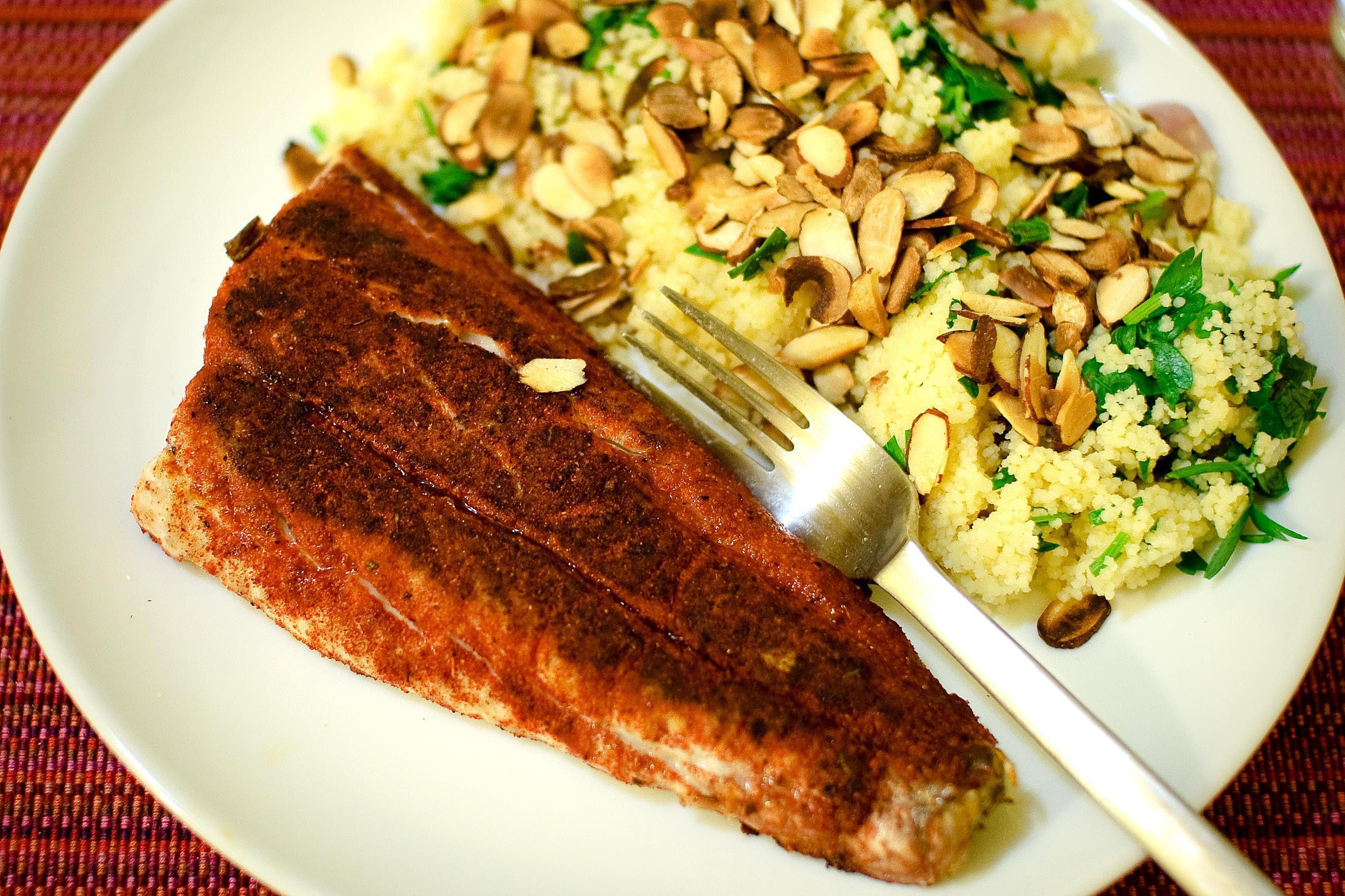 Cajun blackening spice for fish recipe for Blackening spice for fish