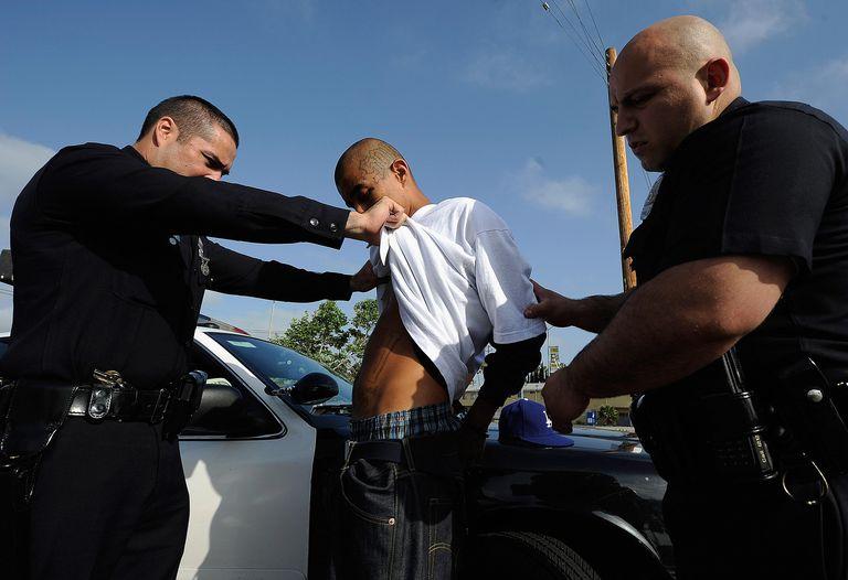 Detención de un pandillero